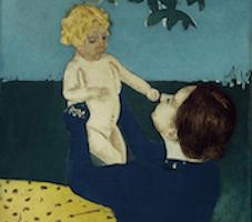 moeder en kleine jongen