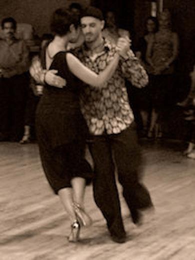 volwassen man-vrouw relatie tango